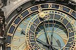 very nice detail of old Prague clock