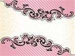 Elegant Banner design inspired by French rococo style. Graphics are grouped and in several layers for easy editing. The file can be scaled to any size. Stock Photo - Royalty-Free, Artist: KarolinaL                     , Code: 400-05157563