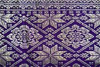 Detail of a Songket from Palembang, Sumatra   Stock Photo - Royalty-Freenull, Code: 400-05158896