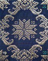 Detail of a Songket from Palembang Stock Photo - Royalty-Freenull, Code: 400-05158928