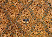 Detail of a batik design from Indonesia  Stock Photo - Royalty-Freenull, Code: 400-05158929