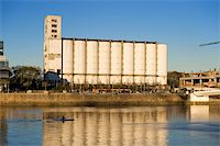 Old grain elevator and silos in Puerto Madero, Buenos Aires, Argentina. Stock Photo - Royalty-Freenull, Code: 400-05159991