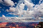 Sky with many clouds above the Grand Canyon Stock Photo - Royalty-Free, Artist: creatista                     , Code: 400-05178204