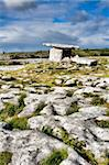 Landscape of the Poulnabrone megalithic tomb in Ireland Stock Photo - Royalty-Free, Artist: gabriela                      , Code: 400-05178906