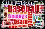 Baseball Game as a Sport Grunge Background Stock Photo - Royalty-Free, Artist: kentoh                        , Code: 400-05192999