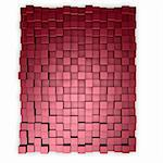 red cubes background - 3d illustration Stock Photo - Royalty-Free, Artist: drizzd                        , Code: 400-05197448