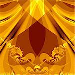 golden abstract background Stock Photo - Royalty-Free, Artist: alri                          , Code: 400-05199571