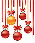 Vector christmas decoration background. Vector christmas collection. Stock Photo - Royalty-Free, Artist: magicinfoto                   , Code: 400-05199882