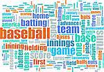 Baseball Game as a Sport Grunge Background Stock Photo - Royalty-Free, Artist: kentoh                        , Code: 400-05204155