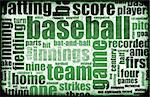 Baseball Game as a Sport Grunge Background Stock Photo - Royalty-Free, Artist: kentoh                        , Code: 400-05204183