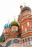 St. Basil's Cathedral in Moscow / isolated on white background Stock Photo - Royalty-Free, Artist: TAIGA                         , Code: 400-05212860