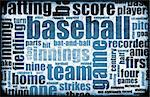 Baseball Game as a Sport Grunge Background Stock Photo - Royalty-Free, Artist: kentoh                        , Code: 400-05213039
