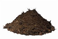 Mound of soil isolated Stock Photo - Royalty-Freenull, Code: 400-05222496