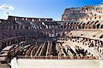 Ancient roman amphitheater Colosseum in Rome, Italy Stock Photo - Royalty-Free, Artist: sailorr                       , Code: 400-05225284