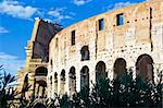 Ancient Walls of great roman amphitheater Colosseum in Rome, Italy Stock Photo - Royalty-Free, Artist: sailorr                       , Code: 400-05225544