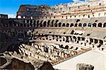 Ancient roman amphitheater Colosseum in Rome, Italy Stock Photo - Royalty-Free, Artist: sailorr                       , Code: 400-05225629