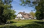Traditional farm house in Meerkerk, the Netherlands  Stock Photo - Royalty-Free, Artist: erikdegraaf                   , Code: 400-05226089