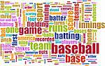 Baseball Game as a Sport Grunge Background Stock Photo - Royalty-Free, Artist: kentoh                        , Code: 400-05226748
