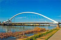 puentes - A view of Puente de la Barqueta in Sevilla, Spain Stock Photo - Royalty-Freenull, Code: 400-05227980