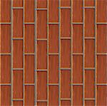Background of a wall from a red brick. Vector Stock Photo - Royalty-Free, Artist: Gurbi4                        , Code: 400-05228348