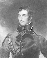 George Murray (1772-1846) on engraving from the 1800s. Scottish soldier and politician. Engraved by H.Meyer after a painting by T.Lawrence and published by Fisher, Son & Co, London in 1846. Stock Photo - Royalty-Freenull, Code: 400-05228834