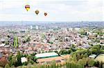 Aerial view cityscape of Brussels from top of atomium Stock Photo - Royalty-Free, Artist: gary718                       , Code: 400-05240504