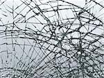 smashed window close-up Stock Photo - Royalty-Free, Artist: spongecake                    , Code: 400-05241443