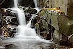 Small waterfall between the rocks Stock Photo - Royalty-Free, Artist: Gudella                       , Code: 400-05242096