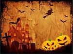 Grunge style Halloween background Stock Photo - Royalty-Free, Artist: kirstypargeter                , Code: 400-05250227