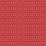 Abstract floral seamless red pattern Stock Photo - Royalty-Free, Artist: hibrida13                     , Code: 400-05250773