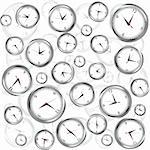 Background with clocks Stock Photo - Royalty-Free, Artist: hibrida13                     , Code: 400-05250814