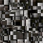 Black white and grey abstract background from rectangles Stock Photo - Royalty-Free, Artist: fotosutra                     , Code: 400-05253226