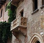 Julia´s balcony in Verona, Italy Stock Photo - Royalty-Free, Artist: szoke                         , Code: 400-05259196
