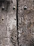 church old door detail at Catalonia, Spain Stock Photo - Royalty-Free, Artist: csp                           , Code: 400-05260843