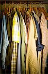 closet detail at home under disaster! Stock Photo - Royalty-Free, Artist: csp                           , Code: 400-05261241