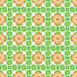 vector illustration of a floral pattern Stock Photo - Royalty-Free, Artist: Trinochka                     , Code: 400-05261371