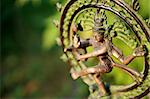 Statue of Shiva Nataraja - Lord of Dance at sunlight Stock Photo - Royalty-Free, Artist: ElenaKovaleva                 , Code: 400-05262626