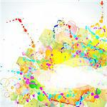 Abstract Multicolours Background for Business Stylish Flyers