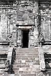 Front door of a Hindu temple in Prambanan temple complex Stock Photo - Royalty-Free, Artist: Rigamondis                    , Code: 400-05266011