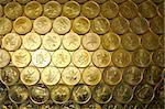 gold coins , Hong Kong currency $0.5 coins Stock Photo - Royalty-Free, Artist: leungchopan                   , Code: 400-05269121