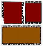 Close up of vintage movie film strips Stock Photo - Royalty-Free, Artist: janaka                        , Code: 400-05280054