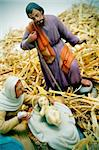 figures representing nativity scene on white background Stock Photo - Royalty-Free, Artist: nito                          , Code: 400-05293183