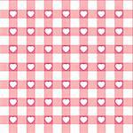 Swatch ready seamless Hearts Stock Photo - Royalty-Free, Artist: ghostintheshell               , Code: 400-05298955