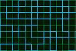 Abstract of blue and green grid lines on black background Stock Photo - Royalty-Free, Artist: MommaMoon                     , Code: 400-05300865