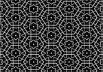 The image a black white pattern . Stock Photo - Royalty-Free, Artist: zool                          , Code: 400-05301103