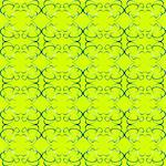 seamless green ornament decorative background pattern