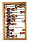 old abacus isolated on a white background Stock Photo - Royalty-Free, Artist: nnv                           , Code: 400-05304405