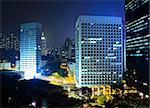Hong Kong at night Stock Photo - Royalty-Free, Artist: leungchopan                   , Code: 400-05310223