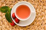 rose hip tea Stock Photo - Royalty-Free, Artist: joannawnuk                    , Code: 400-05312818