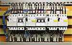 Control panel with circuit-breakers (fuse) Stock Photo - Royalty-Free, Artist: stoonn                        , Code: 400-05318182